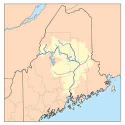 Penobscot River Watershed, from wikipedia