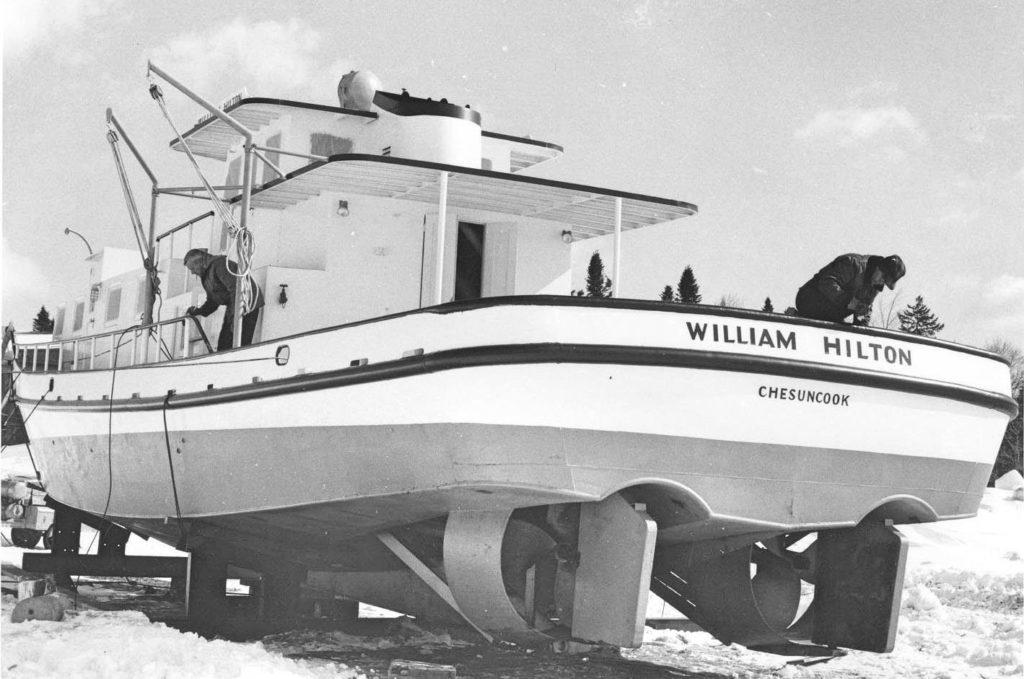 The William Hilton at Chesuncook