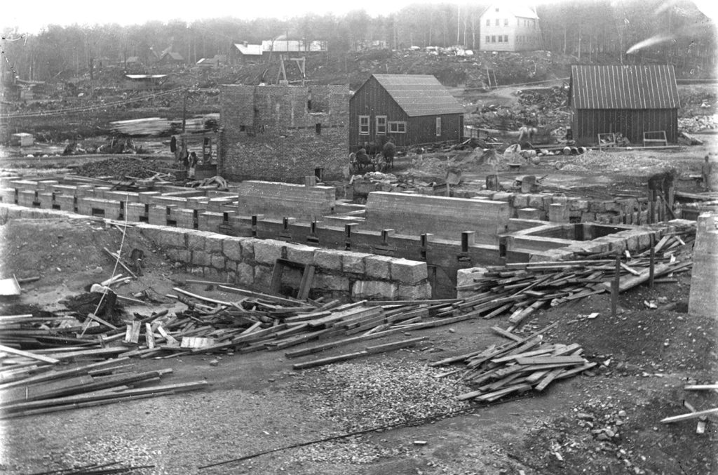 Building the East Mill