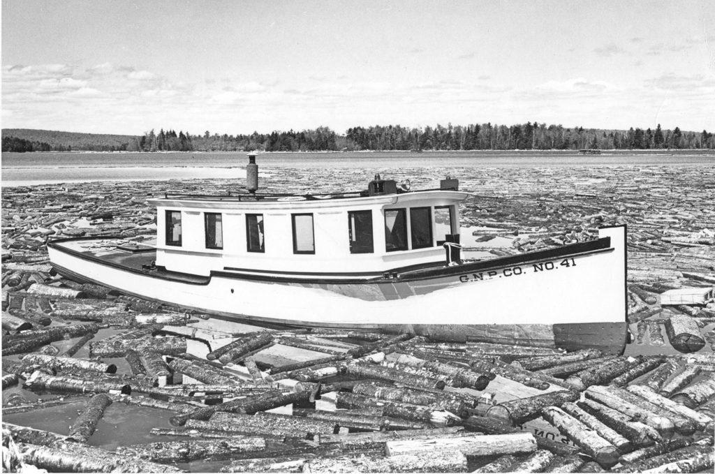 The GNP 41 at North Twin Lake