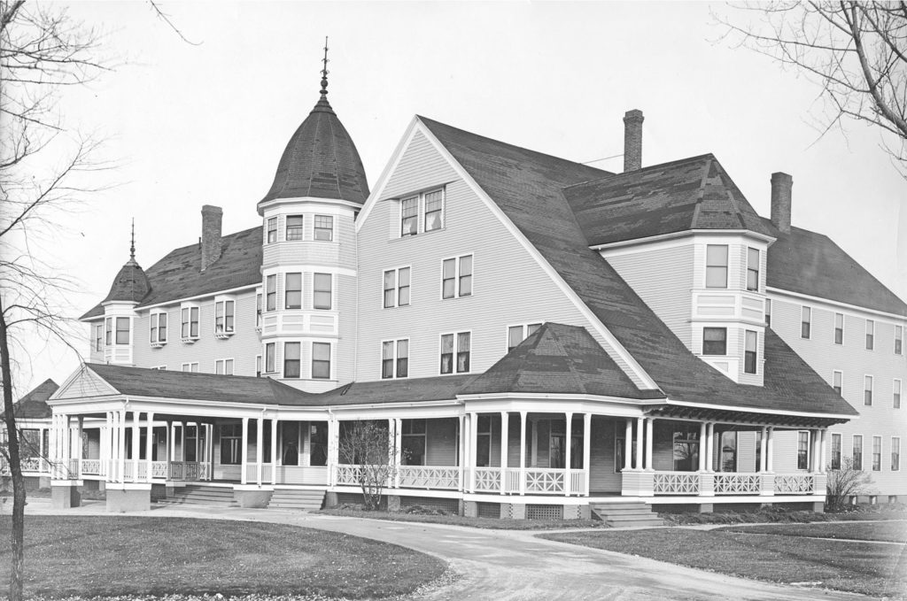 Great Northen Hotel in Millinocket, 1906