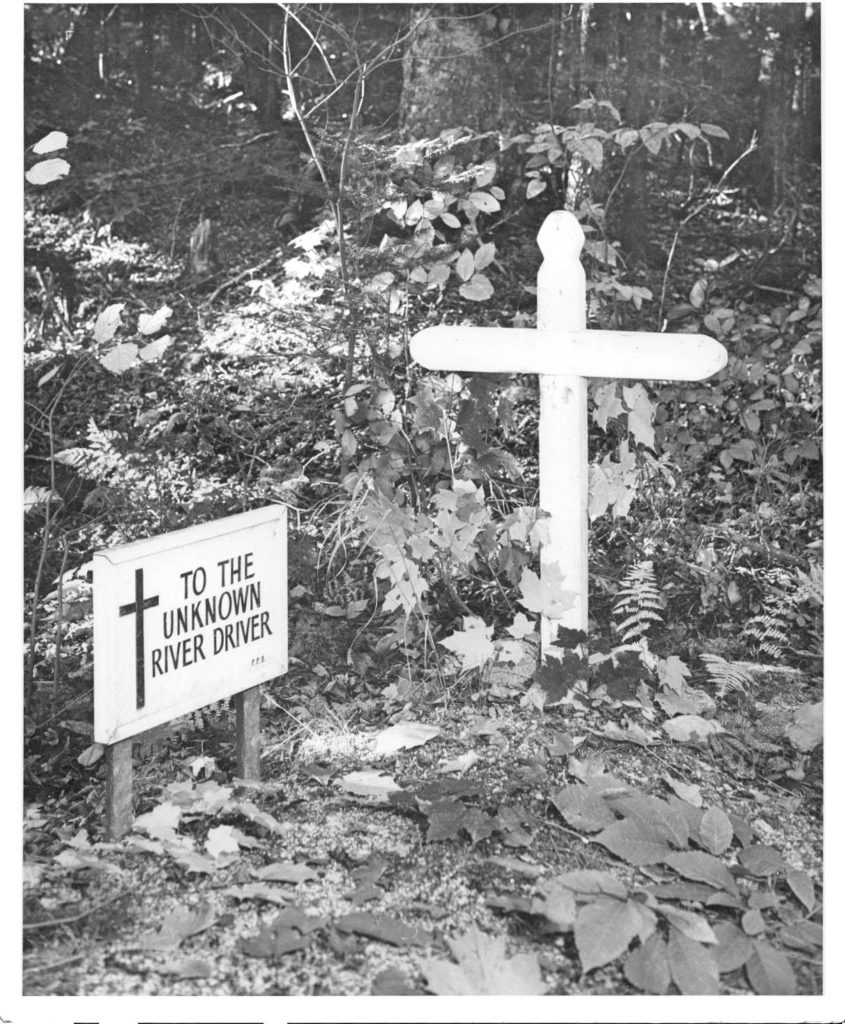 Grave of the Unknown River Driver