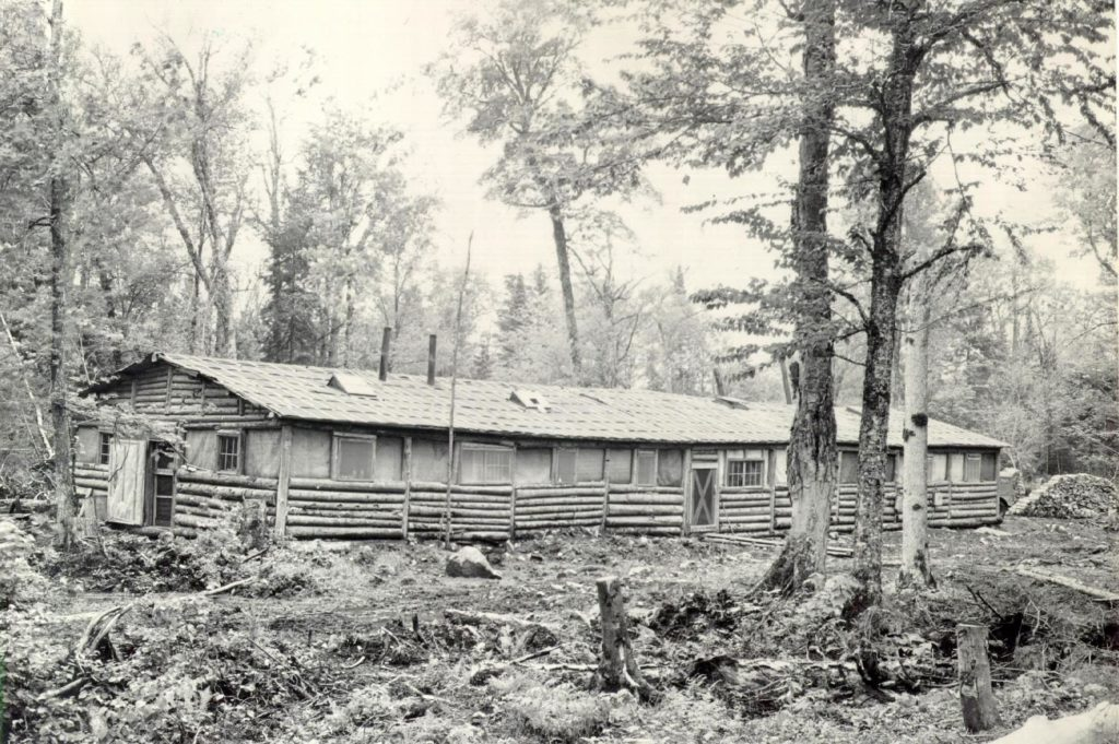 Old GNP logging camp